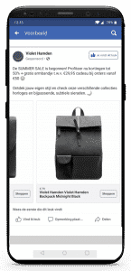 iPhone X Violet Hamden FB Tas carousel 1