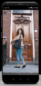 iPhone X Violet Hamden Insta Storie Tassen