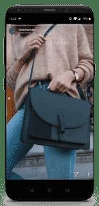 iPhone X Violet Hamden Insta Storie Tassen 2