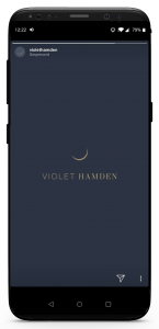 iPhone X Violet Hamden Insta Storie Tassen 3